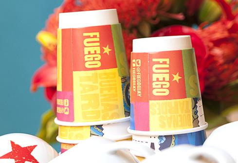 FUEGO cups