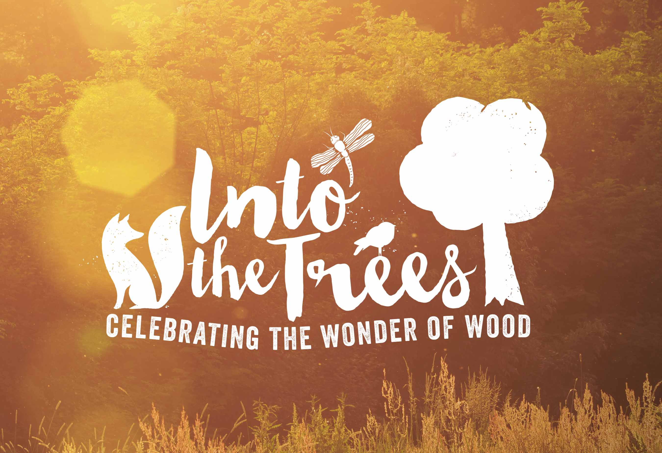 Into the trees branding