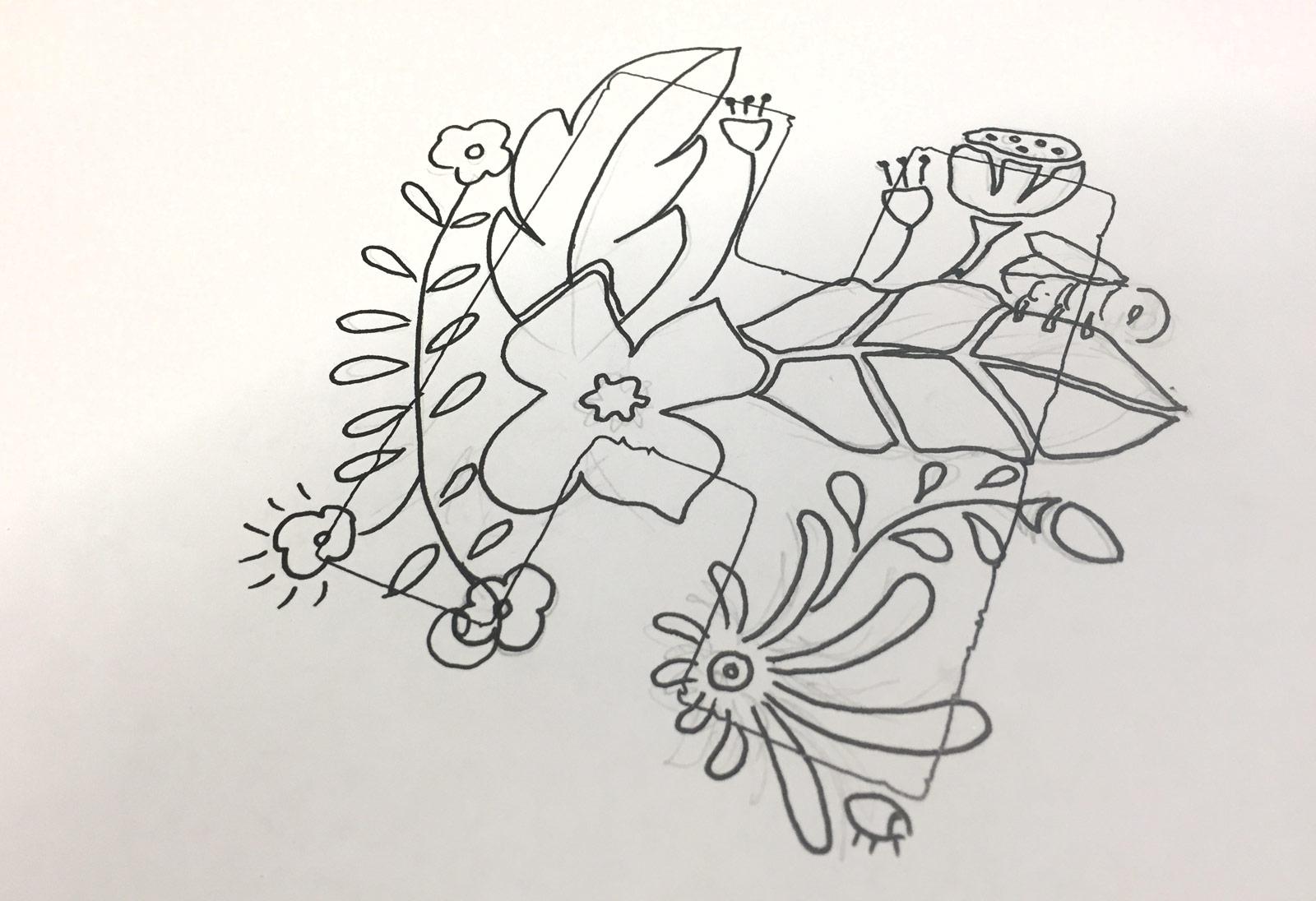 Haynes Horticulture initial sketch